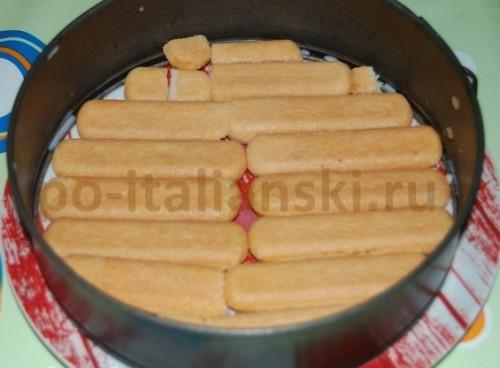 Рецепт приготовления тирамису из клубники