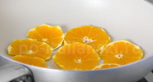 Форель в апельсинах