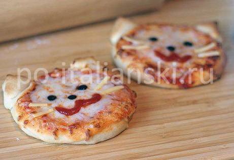 Пицца для детей рецепты с фото