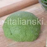 Как приготовить пасту зеленого цвета