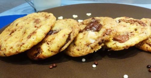 Рецепт печенья с шоколадом