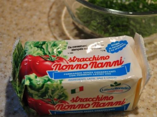 Итальянский сыр страккино