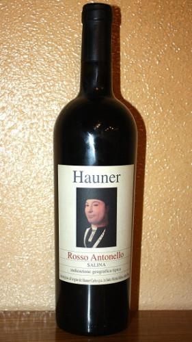 Vino rosso Antonello Salina