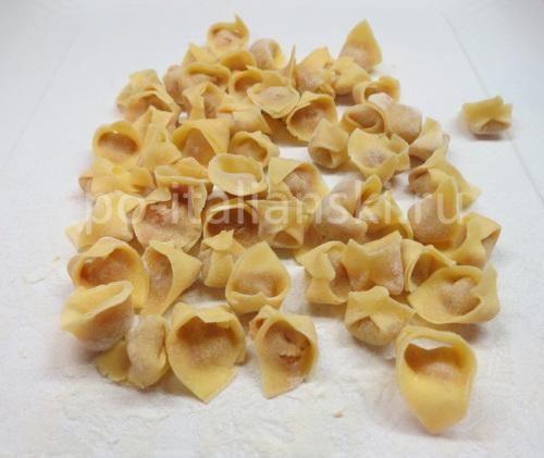 Тортеллини из прошутто крудо