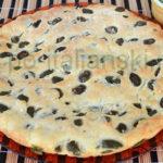 Фокачча с оливками