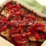 Как приготовить баклажаны с помидорами